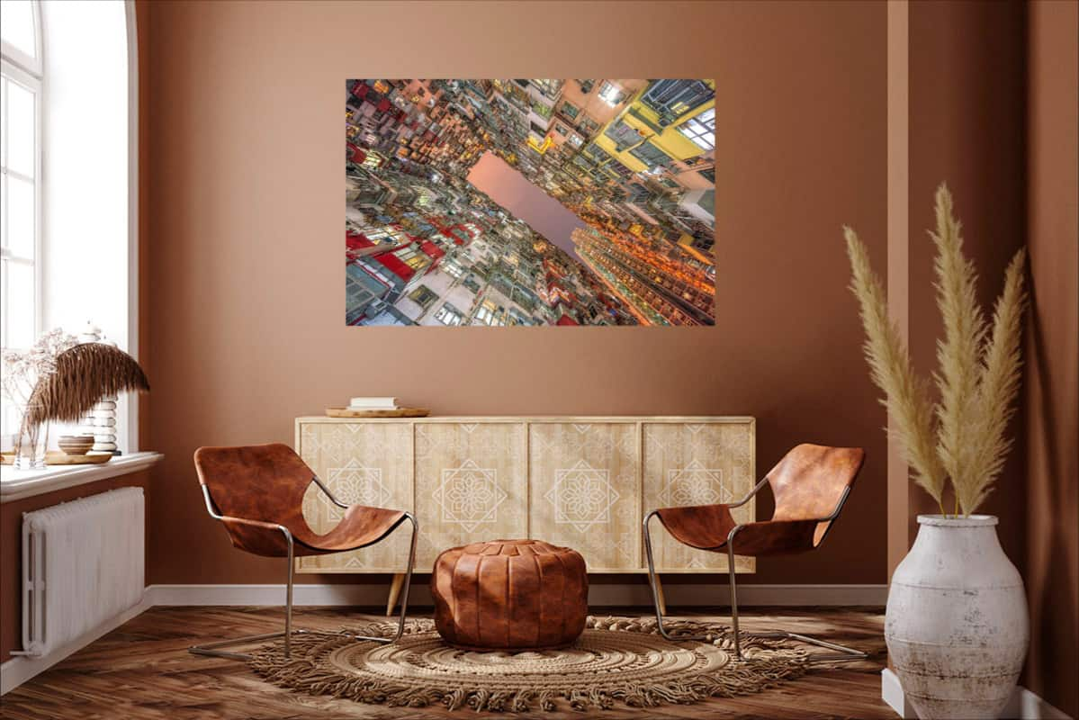Hong Kong Quarry Bay Architecture Symmetry Wall Decoration