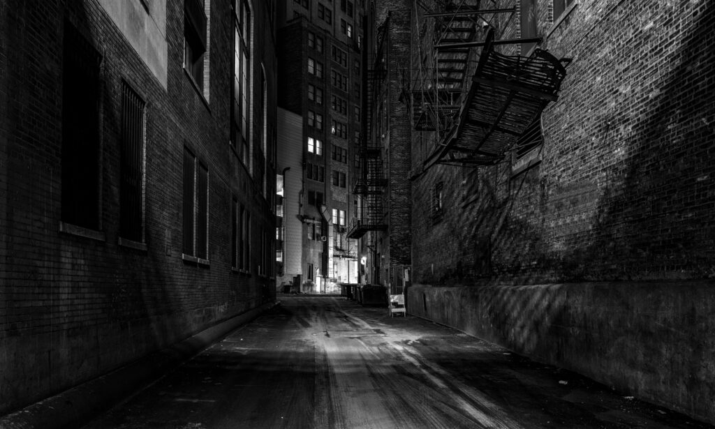 Chicago Illinois Downtown Back Alley